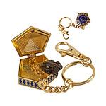 Harry Potter - Porte-clés métal Chocolate Frog 4 cm