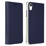 Avizar Etui folio Bleu Nuit Porte-Carte pour Apple iPhone XR