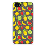 1001 Coques Coque silicone gel Apple iPhone 7 motif Fruits tropicaux