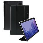 Mobilis Coque de protection avec coins renforcés pour Galaxy Tab A7 10.4'' 2020, Transparent/Noir