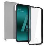 Avizar Coque Argent pour Samsung Galaxy A50 , Samsung Galaxy A30s