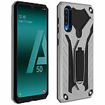 Avizar Coque Argent Hybride pour Samsung Galaxy A50
