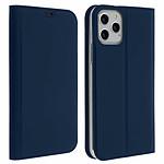 Avizar Etui folio Bleu Nuit Éco-cuir pour Apple iPhone 11 Pro