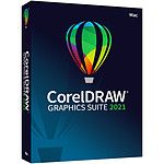 CorelDRAW Graphic Suite 2021  - Licence 1 an - 1 poste - A télécharger