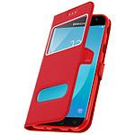 Avizar Etui folio Rouge pour Samsung Galaxy J5 2017
