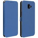 Avizar Etui folio Bleu Nuit pour Samsung Galaxy J6 Plus