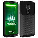 Avizar Coque Noir pour Motorola Moto G7 Power