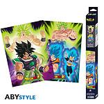 Dragon Ball -  Super Broly Set 2 Chibi Posters Broly (52 X 38 Cm)