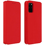 Avizar Etui folio Rouge pour Samsung Galaxy S20 Plus