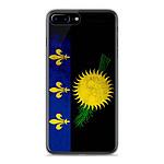 1001 Coques Coque silicone gel Apple IPhone 8 Plus motif Drapeau Guadeloupe