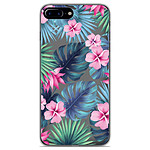 1001 Coques Coque silicone gel Apple iPhone 7 Plus motif Tropical Aquarelle