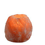 Zen'Arôme - Bougeoir en Cristal de Sel Himalaya Rock