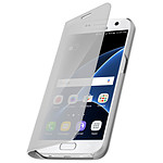 Avizar Etui folio Argent pour Samsung Galaxy S7