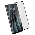 Avizar Film verre trempé Noir pour HTC Desire 20 Pro