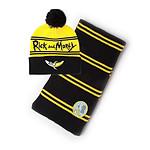 Rick & Morty - Set bonnet & écharpe Banana