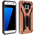 Avizar Coque Rose Champagne pour Samsung Galaxy S7