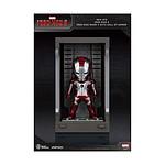 Iron Man 3 - Figurine Mini Egg Attack Hall of Armor Iron Man Mark V 8 cm