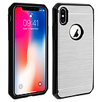Avizar Coque Argent Rigide pour Apple iPhone X , Apple iPhone XS