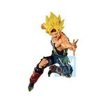 Dragon Ball Super - Statuette Ichibansho Super Saiyan Bardock Rising Fighters 18 cm