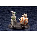 Star Wars Episode IX - Pack 2 statuettes 1/7 PVC ARTFX+ D-O & BB-8 13 cm
