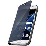 Avizar Etui folio Noir pour Samsung Galaxy S7