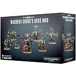 Warhammer 40k - Ork Warboss Grukk's Boss Mob