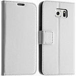 Avizar Etui folio Blanc pour Samsung Galaxy S6