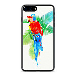 1001 Coques Coque silicone gel Apple IPhone 8 Plus motif RF Tropical party
