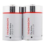 Thomson 150379  Pack 2 piles alcalines LR20 D 1,5 V