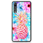 1001 Coques Coque silicone gel Huawei P20 Pro motif Ananas