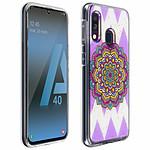 Avizar Coque Multicolore pour Samsung Galaxy A40