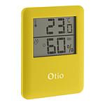 Thermomètre / Hygromètre intérieur magnétique - Jaune - Otio