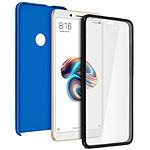 Avizar Coque Bleu pour Xiaomi Redmi Note 5