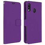 Avizar Etui folio Violet pour Samsung Galaxy M20