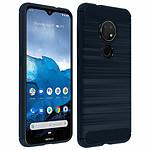 Avizar Coque Bleu Nuit pour Nokia 7.2 , Nokia 6.2