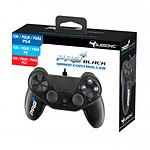 Subsonic Pro4 black wired controller pour PS4