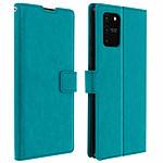Avizar Etui folio Bleu pour Samsung Galaxy S10 Lite