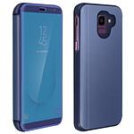 Avizar Etui folio Bleu pour Samsung Galaxy J6