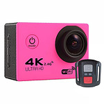 Yonis Caméra sport 4K Rose Y-6467