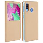 Avizar Etui folio Dorée pour Samsung Galaxy A40