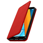 Avizar Etui folio Rouge pour Honor 7A , Huawei Y6 2018