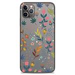 1001 Coques Coque silicone gel Apple iPhone 11 Pro Max motif Fleurs colorées
