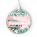 EVETANE Chargeur Induction Tropical Summer Pastel