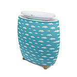 air&me - Préfiltre bleu Nuages pour purificateur d'air LENDOU - Bleu
