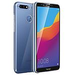 Avizar Coque Transparent pour Honor 7C , Huawei Y7 2018