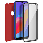 Avizar Coque Rouge pour Honor 8A , Huawei Y6 2019 , Huawei Y6S
