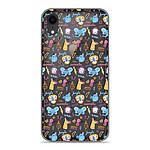 1001 Coques Coque silicone gel Apple iPhone XR motif Happy animals
