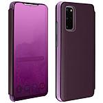 Avizar Etui folio Violet pour Samsung Galaxy S20 Plus