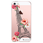 LA COQUE FRANCAISE Coque iPhone SE / 5S / 5 rigide transparente Un Printemps à Paris