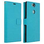 Avizar Etui folio Turquoise pour Sony Xperia XA2 Plus